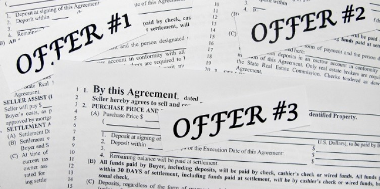 Which Offer Should A Short Seller Pick In A Multiple Offer Situation?